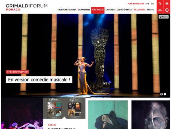 <p>Grimaldi Forum</p>