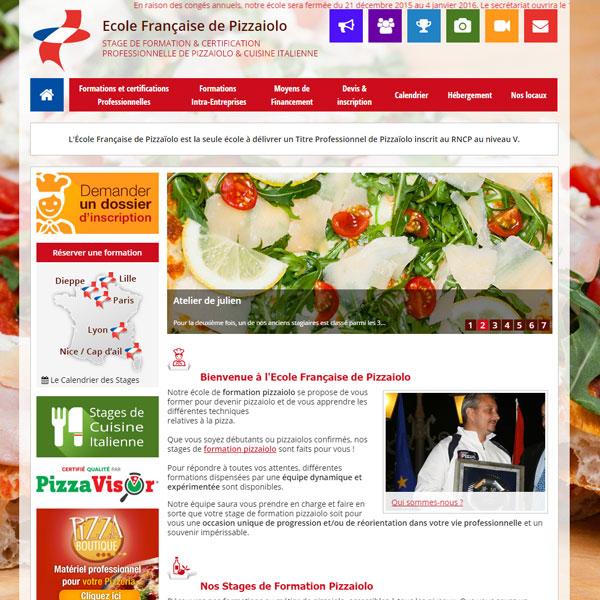Ecole fran aise de pizzaiolo for Ecole superieure de cuisine francaise